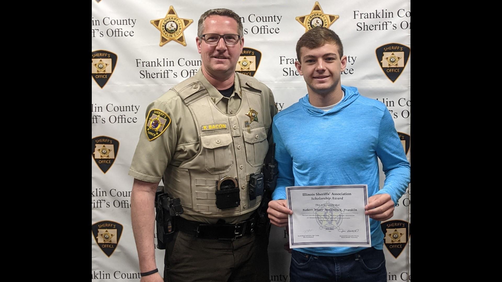 Benton High School Senior Win Illinois Sheriff's Scholarship