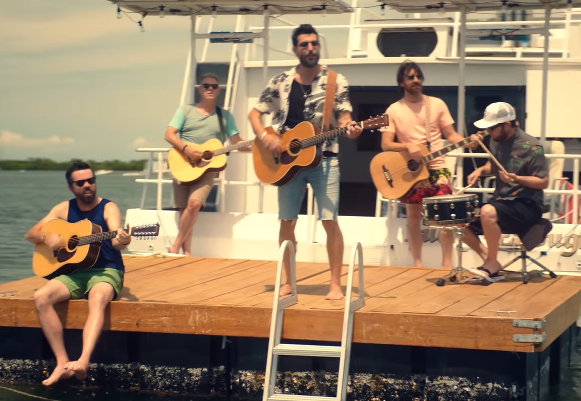 Old Dominion – I Was On a Boat That Day