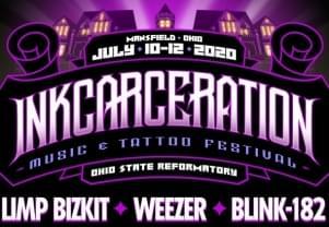 Weezer, Blink-182 Headlining 2020 Inkcarceration Festival in Ohio