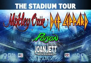 Motley Crue Headlining Stadium Tour in St. Louis