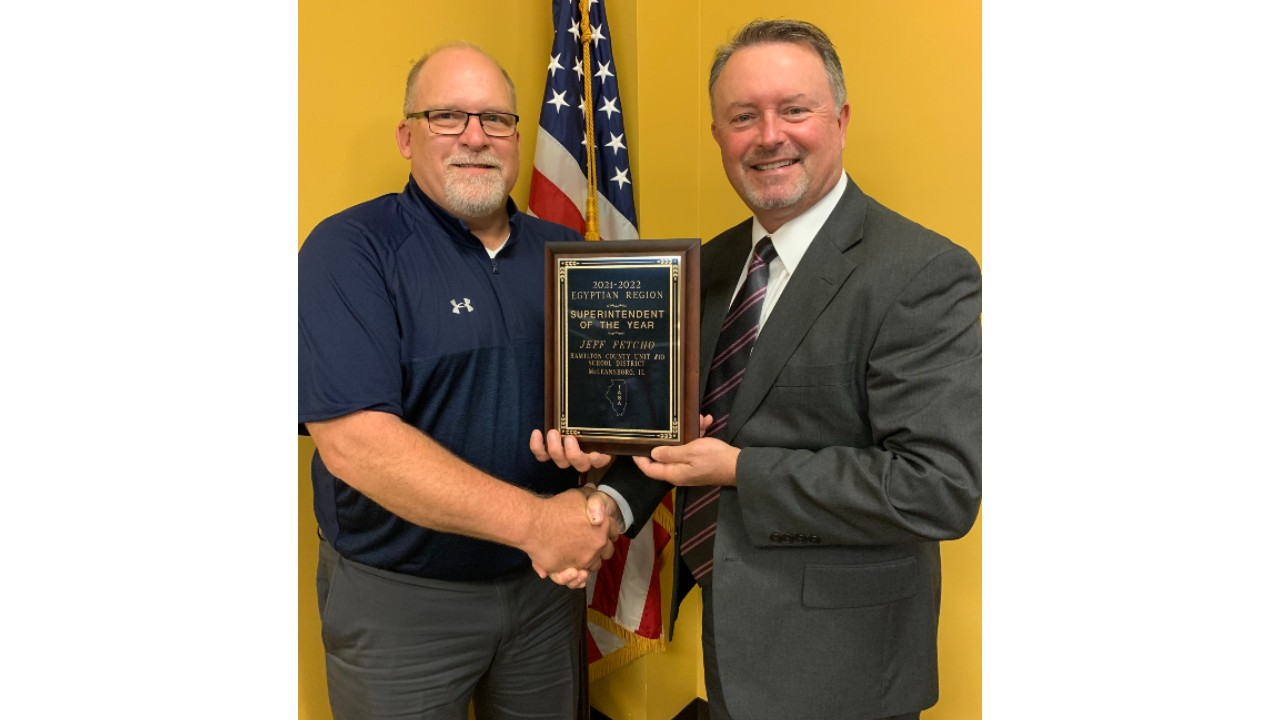 Hamilton County Superintendent Selected as Regional Superintendent of the Year