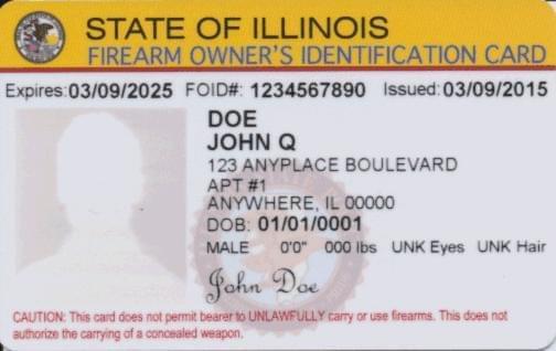 IL Legislature fails to address FOID card backlog