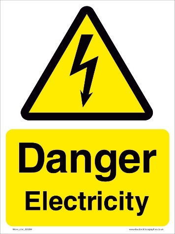Be aware of electricity hazards on the farm