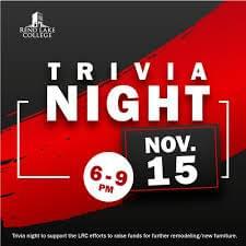 NOVEMBER 15: RLC LRC Trivia Night- INA