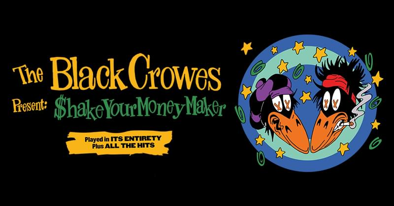 POSTPONED – The Black Crowes @ Hollywood Casino Amphitheatre