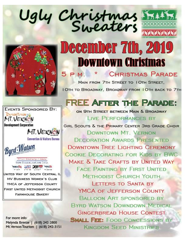 Downtown Christmas Parade – Mt.Vernon