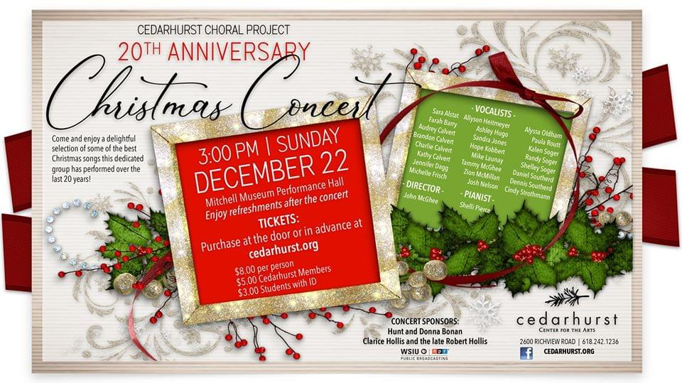20th Anniversary Christmas Concert at Cedarhurst