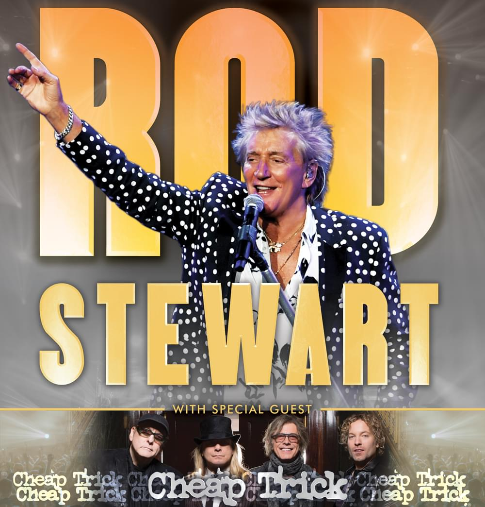 CANCELLED – Rod Stewart with special guest Cheap Trick @ Hollywood Casino Amphitheatre