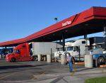 Weak diesel fuel prices helping trucking industry