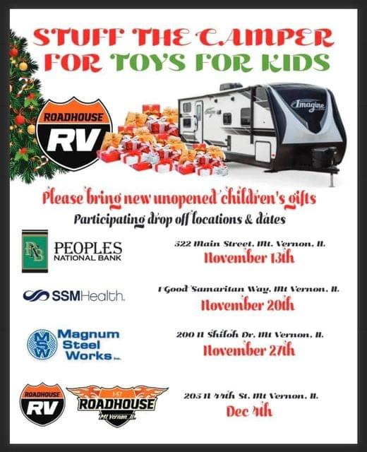 Stuff the Camper For Toys For Kids