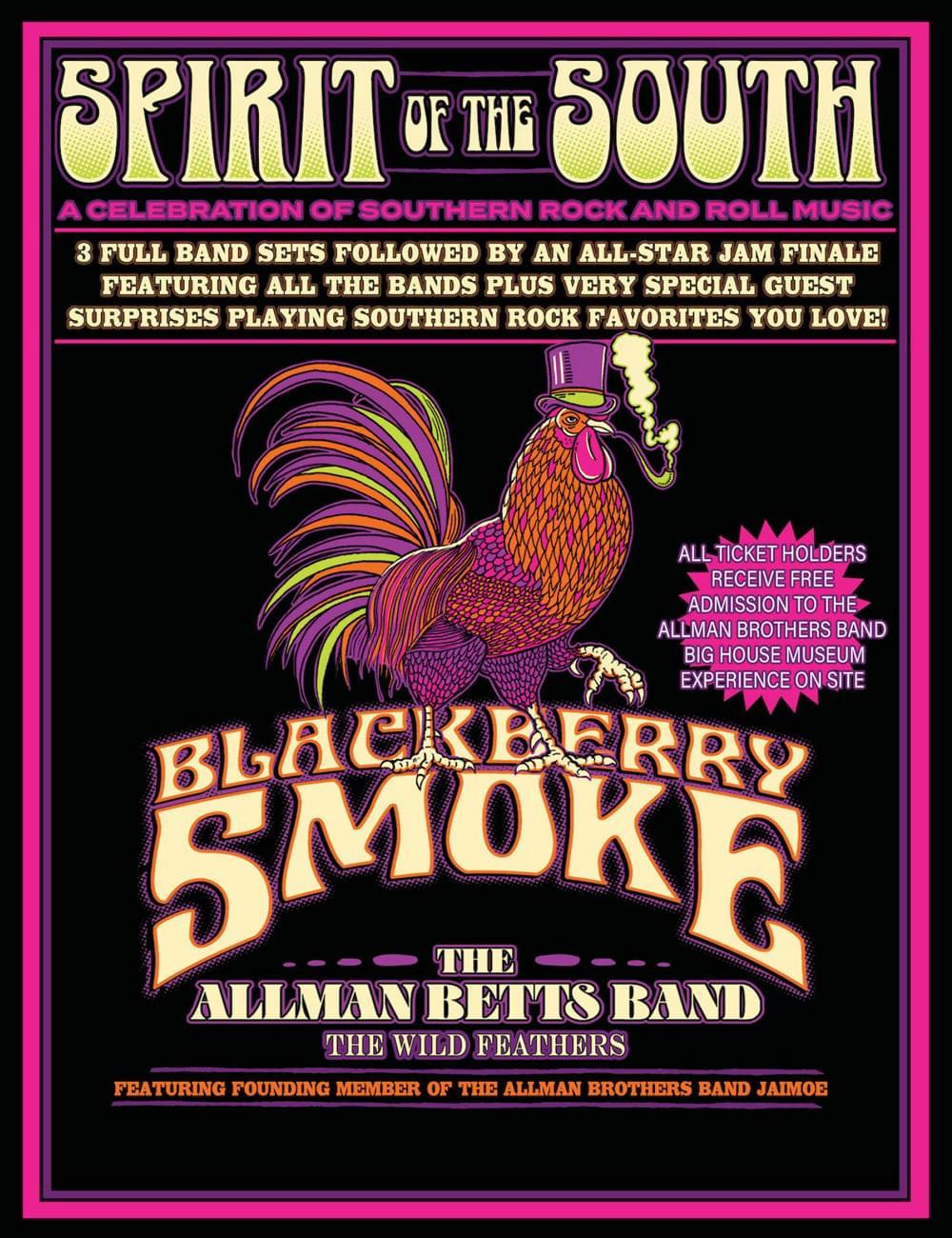 Blackberry Smoke & The Allman Betts Band