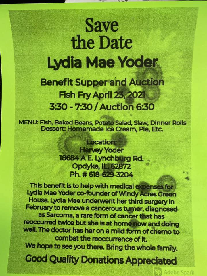 Benefit Supper & Auction