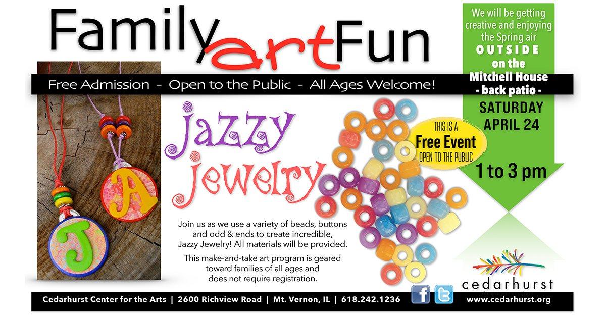 Family Art Fun – Jazzy Jewelry