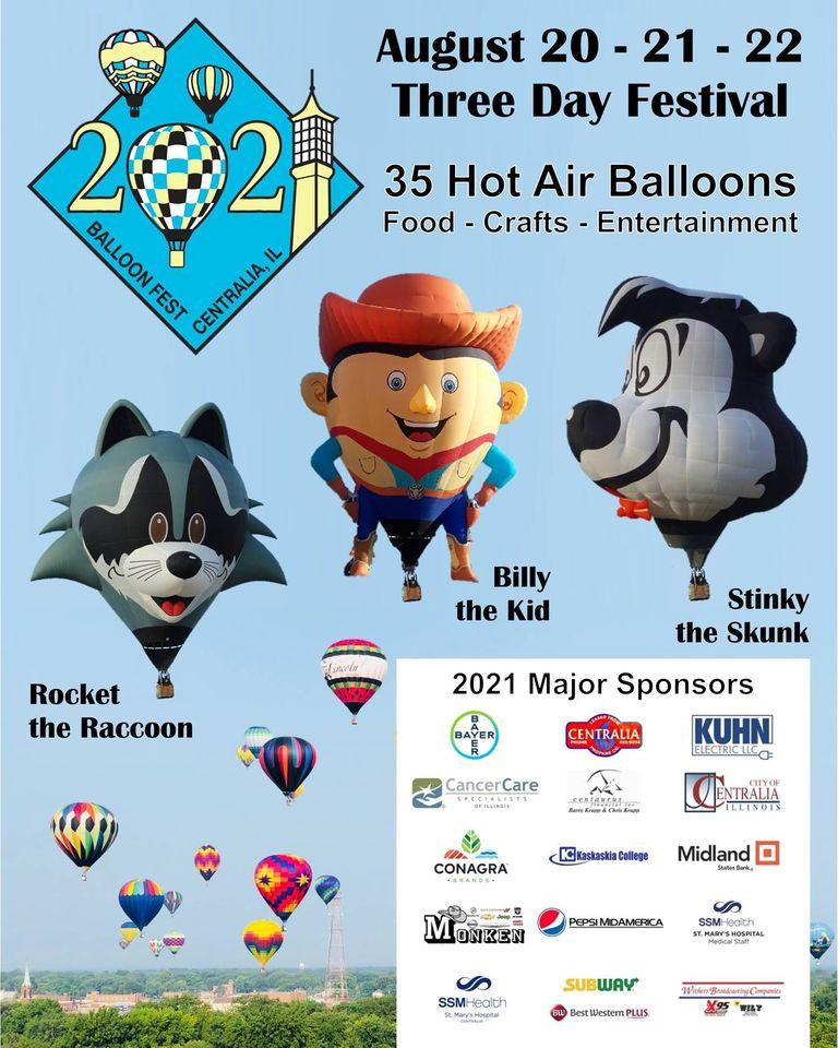 Centralia Balloon Fest