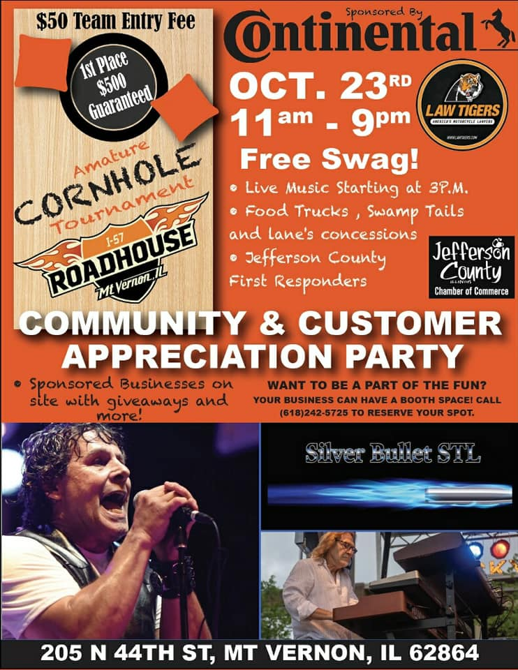 Community & Customer Appreciation Party at Roadhouse HD