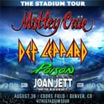 Mötley Crüe, Def Leppard, Poison, Joan Jett and the Blackhearts