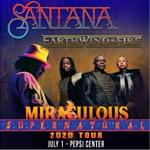 Santana / Earth, Wind & Fire – Rescheduled