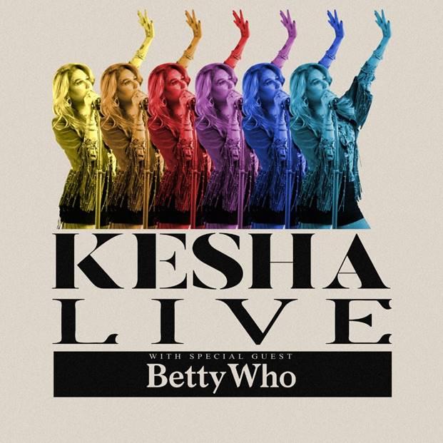 KESHA Live Tour – August 15th at Mission Ballroom!