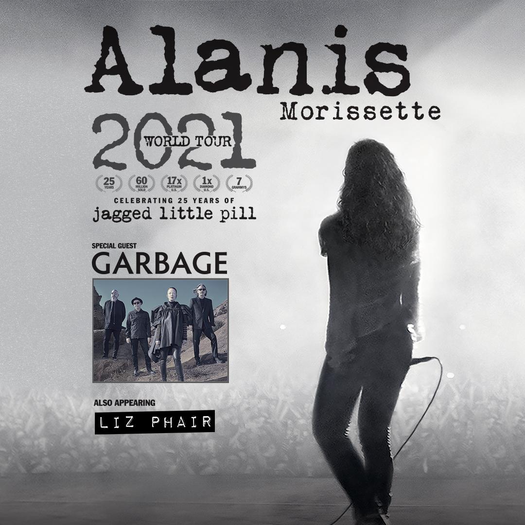 Alanis Morissette w/Special Guest Garbage & Liz Phair