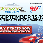 The Denver Auto Show pres by AAA September 16-19