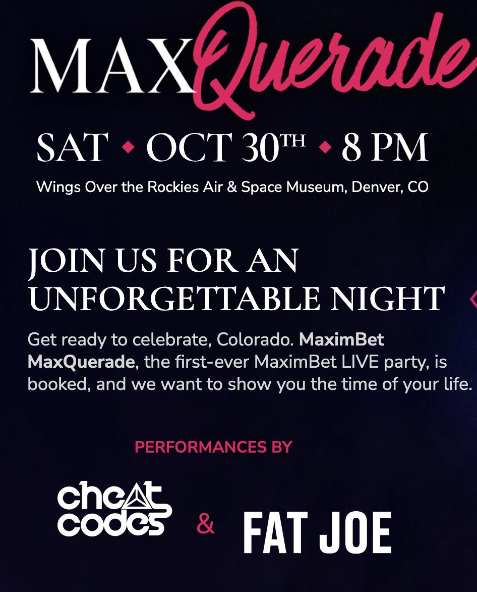 MaximBet MaxQuerade Party
